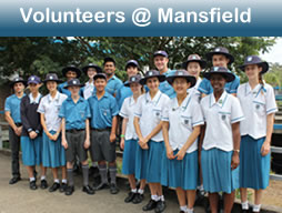 Students receive V@M badges on assembly